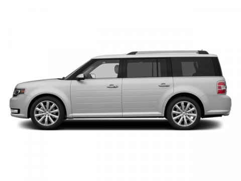 2014 Ford Flex SEL White Platinum Metallic Tri-CoatChar Blk V6 35 L Automatic 0 miles Ford Fle