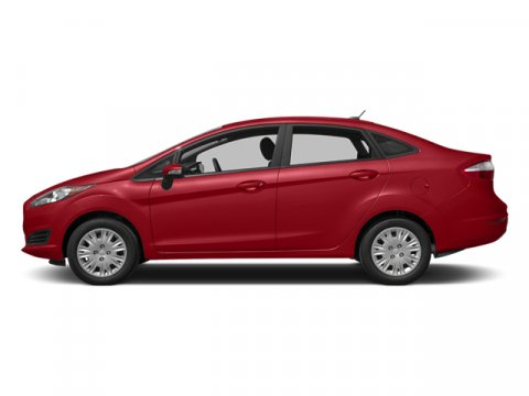 2014 Ford Fiesta Titanium Ruby Red Metallic Tinted ClearcoatMedium Light Stone V4 16 L Automatic