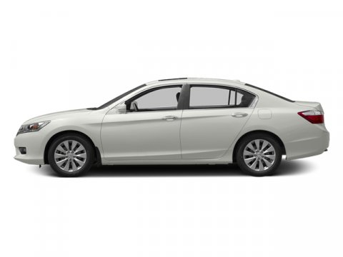 2014 Honda Accord Sedan EX-L Alabaster Silver Metallic V4 24 L Variable 5 miles  Front Wheel D