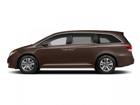 2014 Honda Odyssey Touring Elite Smoky Topaz Metallic V6 35 L Automatic 2 miles  Front Wheel D