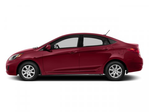 2014 Hyundai Accent GLS Boston Red Pearl V4 16 L Automatic 25964 miles  Front Wheel Drive  P