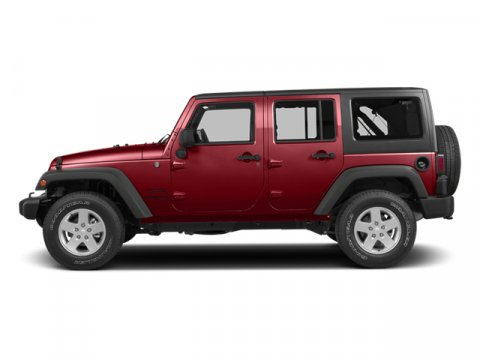 2014 Jeep Wrangler Unlimited Sport Flame Red ClearcoatBlack V6 36 L Automatic 0 miles  BLACK 3