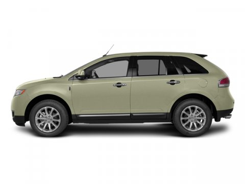 2014 Lincoln MKX Platinum Dune Metallic Tri-CoatCl Prem Leather Buckets W Piping Medium Lt Stone