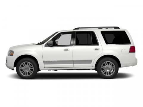 2014 Lincoln Navigator White Platinum Metallic Tri-CoatTl Leather Low Back Bucket Seats Stone V8