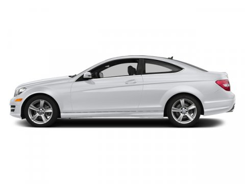2014 Mercedes C-Class C250 Coupe Polar WhiteBLACK MB TEX V4 18 L Automatic 4 miles Stop by Wal