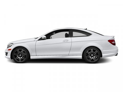 2014 Mercedes C-Class C350 Coupe Polar WhiteBlk Mb Tex Dnmc V6 35 L Automatic 8 miles Stop by