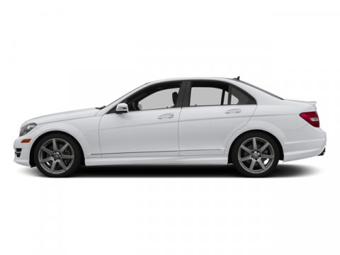 2014 Mercedes C-Class C350 Sport Polar WhiteBlack Mb Tex V6 35 L Automatic 4 miles Stop by Wal