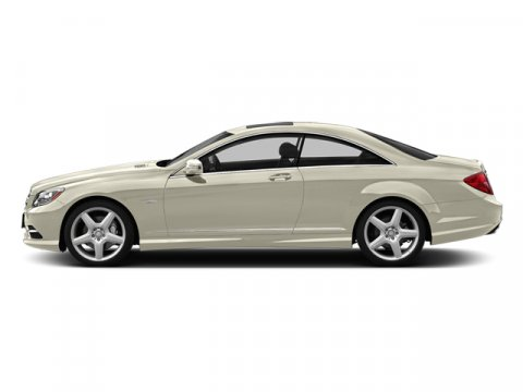 2014 Mercedes CL-Class CL550 4MATIC- 2-Door Coupe Diamond White MetallicBlack Leather V8 47 L A