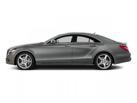 2014 Mercedes CLS-Class CLS550 Palladium Silver MetallicAsh Black Leath V8 47 L Automatic 7 mil