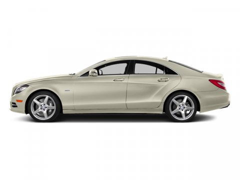 2014 Mercedes CLS-Class CLS550 Diamond White MetallicBlack Leather V8 47 L Automatic 4 miles U