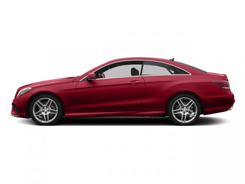 2014 Mercedes E-Class E350 Coupe Mars RedBlack Leather V6 35 L Automatic 4 miles The 2014 Merc
