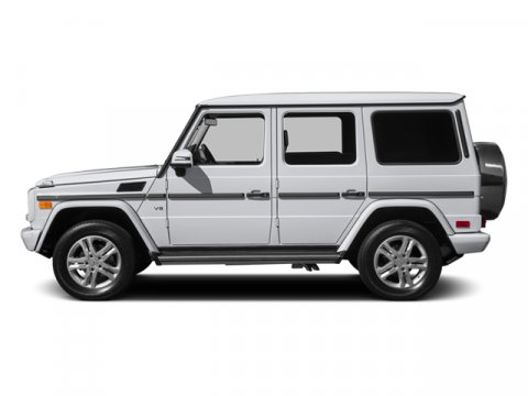 2014 Mercedes G-Class G550 4MATIC Polar WhiteBlack Leather V8 55 L Automatic 190 miles The G55