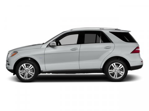 2014 Mercedes M-Class ML350 RWD Iridium Silver MetallicBlack Tex V6 35 L Automatic 4 miles The