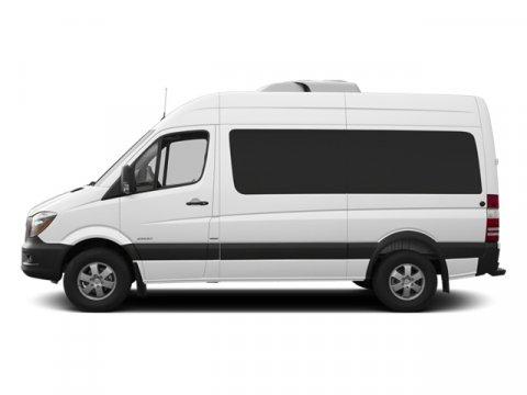 2014 Mercedes Sprinter Passenger Van 2500 144 Arctic WhiteTunja Black V4 21 L Automatic 52 mile