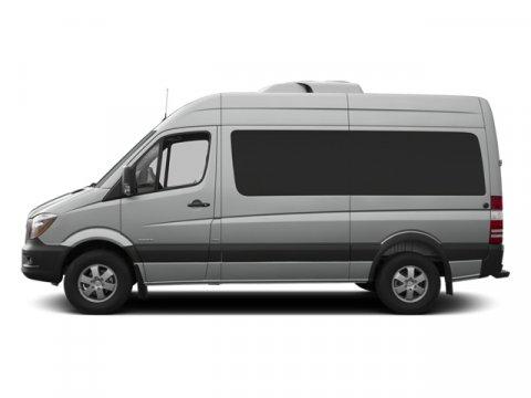 2014 Mercedes Sprinter Passenger Van 2500 144 Pebble GrayLeatherette Bla V4 21 L Automatic 210