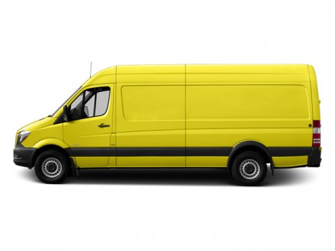 2014 Mercedes Sprinter Cargo Van 3500 170 EXT Calcite YellowLeatherette Bla V4 21 L Automatic 1