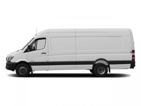 2014 Mercedes Sprinter Cargo Van 3500 170 EXT Arctic WhiteTunja Black V6 30 L Automatic 13 mile