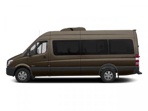 2014 Mercedes Sprinter Passenger Van 2500 170 Dolomite Brown MetallicLeatherette Bla V6 30 L Aut