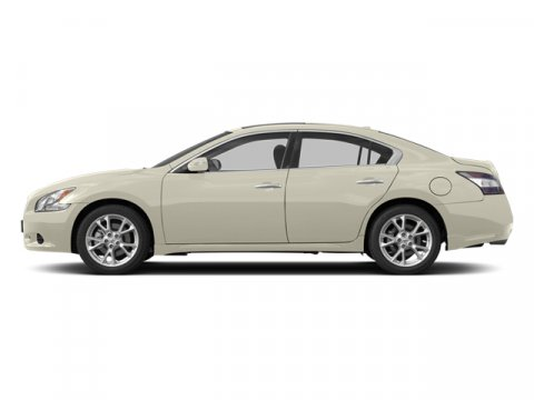 2014 Nissan Maxima 35 S Pearl WhiteCafe Latte V6 35 L Variable 33 miles With an aggressive si