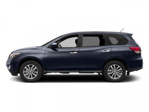 2014 Nissan Pathfinder SL Arctic Blue Metallic V6 35 L Variable 55016 miles  Front Wheel Driv