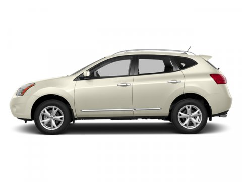 2014 Nissan Rogue Select S Pearl WhiteGray V4 25 L Variable 33 miles From headlights to tailli
