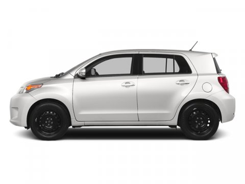2014 Scion xD Super WhiteDARK CHARCOAL V4 18 L Automatic 5 miles FREE CAR WASHES for Lifetime