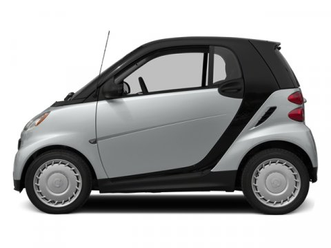 2014 Smart Fortwo Pure Silver MetallicBlack V3 10 L Automatic 107 miles Stop by Smart Center R