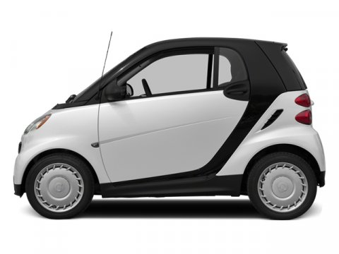 2014 Smart Fortwo Pure Crystal WhiteBLACK V3 10 L Automatic 6 miles Stop by Smart Center River