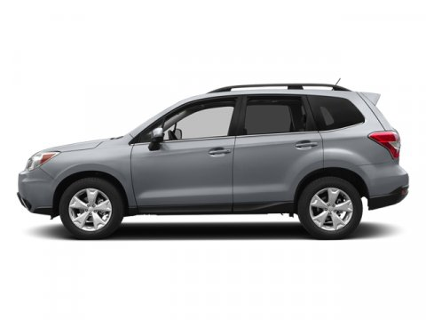 2014 Subaru Forester 25i Premium Ice Silver MetallicBlack V4 25 L Variable 40255 miles  Pr