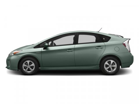 2014 Toyota Prius Four Sea Glass PearlDark Gray V4 18 L Variable 5 miles The worlds first and