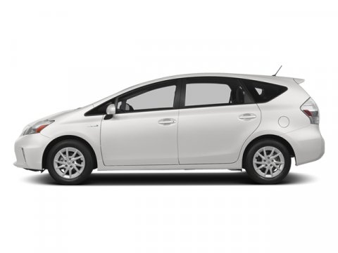 2014 Toyota Prius v Three Super WhiteDARK GRAY V4 18 L Variable 5 miles FREE CAR WASHES for Li