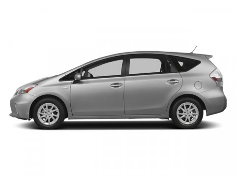 2014 Toyota Prius v Five Classic Silver MetallicDark Gray V4 18 L Variable 5 miles The worlds