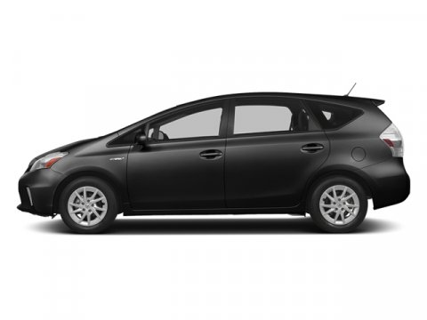 2014 Toyota Prius v Five BlackDARK GRAY V4 18 L Variable 5 miles FREE CAR WASHES for Lifetime