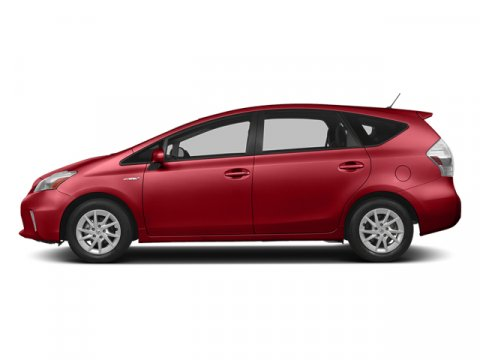 2014 Toyota Prius v Five Barcelona Red MetallicDARK GRAY V4 18 L Variable 5 miles FREE CAR WAS