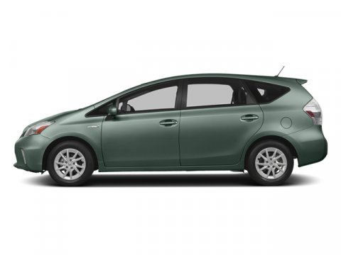 2014 Toyota Prius v Three Sea Glass PearlBISQUE V4 18 L Variable 5 miles FREE CAR WASHES for L