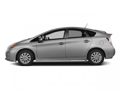 2014 Toyota Prius Plug-In Classic Silver MetallicDARK GRAY SOFTEX SYN LTH V4 18 L Variable 5 mi