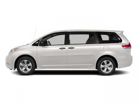 2014 Toyota Sienna LE Super WhiteLight Gray V6 35 L Automatic 5 miles Families always have som