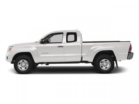 2014 Toyota Tacoma Super WhiteGraphite V4 27 L Automatic 5 miles FREE CAR WASHES for Lifetime
