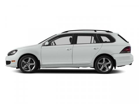 2014 Volkswagen Jetta SportWagen S Pure WhiteTitanium Black V5 25 L Automatic 0 miles  Front W