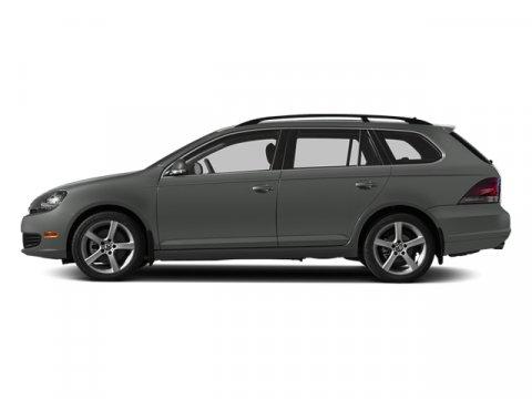 2014 Volkswagen Jetta SportWagen TDI wSunroof  Nav Platinum Gray MetallicTitanium Black V4 20
