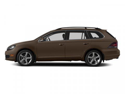 2014 Volkswagen Jetta SportWagen TDI wSunroof Toffee Brown MetallicCornsilk Beige V4 20 L Autom