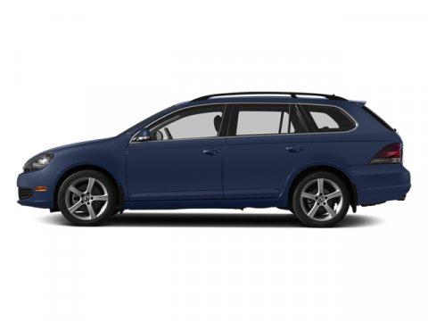 2014 Volkswagen Jetta SportWagen TDI wSunroof Tempest Blue MetallicCornsilk Beige V4 20 L Autom