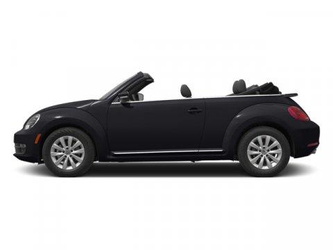 2014 Volkswagen Beetle Convertible 25L wTech Black UniBlack RoofTitanium Black V5 25 L Automa