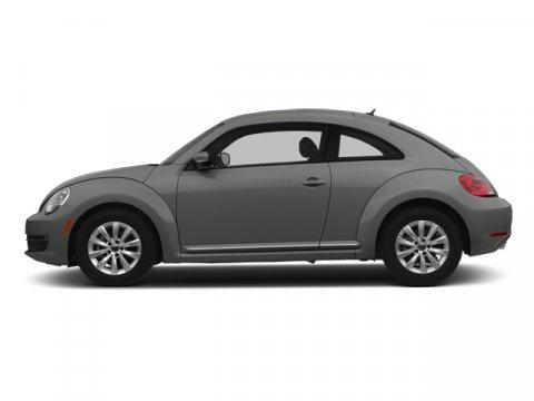 2014 Volkswagen Beetle Coupe 18T wSun Platinum Gray MetallicTitanium Black V4 18 L Automatic