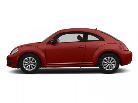 2014 Volkswagen Beetle Coupe 20L TDI Tornado RedBeige V4 20 L Automatic 10 miles  Turbocharge