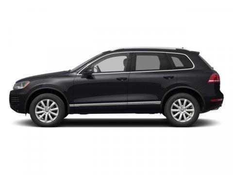 2014 Volkswagen Touareg Lux Black UniCornsilk Beige V6 36 L Automatic 0 miles  All Wheel Drive