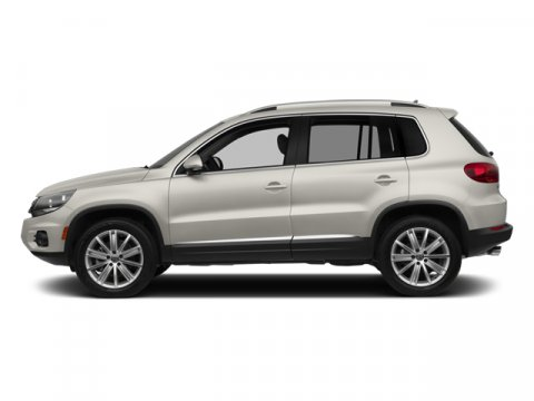 2014 Volkswagen Tiguan SE Pure WhiteBlack V4 20 L Automatic 0 miles  Turbocharged  All Wheel