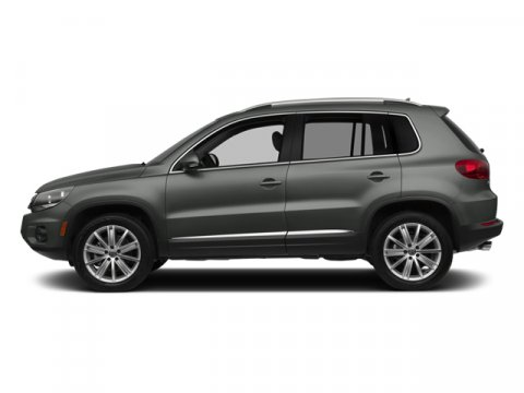 2014 Volkswagen Tiguan SEL Pepper Gray MetallicBlack V4 20 L Automatic 0 miles  Turbocharged