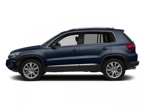 2014 Volkswagen Tiguan S Night Blue MetallicBlack V4 20 L Automatic 57 miles  Turbocharged  F
