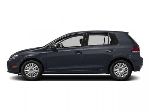 2014 Volkswagen Golf Blue Graphite MetallicTitanium Black V5 25 L Automatic 0 miles  Front Whe